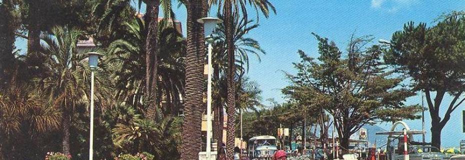 Giardini Palazzo del Parco 1974 (Ph: New Cartoline Liguria)