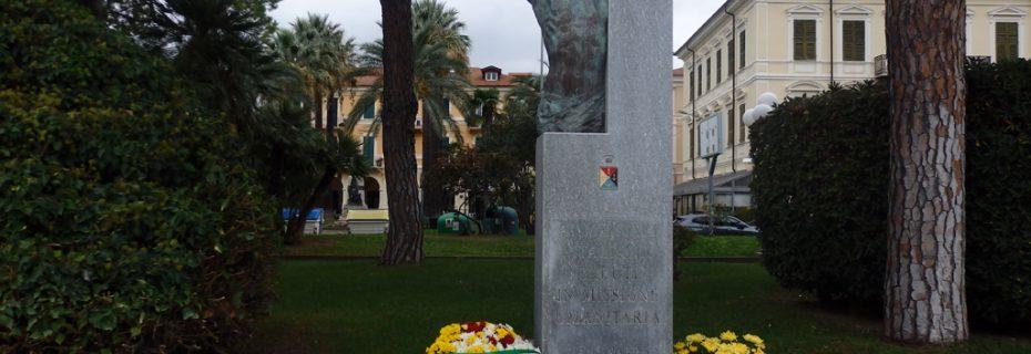 Monumento ai Caduti delle Missioni Umanitarie (Ph: Provincia di Savona)