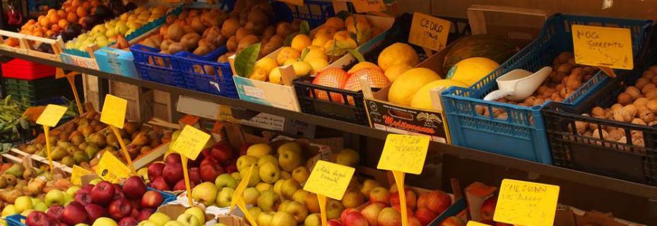 Mercato settimanale e mercatini prodotti agricoli (Ph: Provincia di Savona)