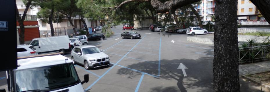 Parcheggio Piazza J. Virgilio (Ph: Provincia di Savona)
