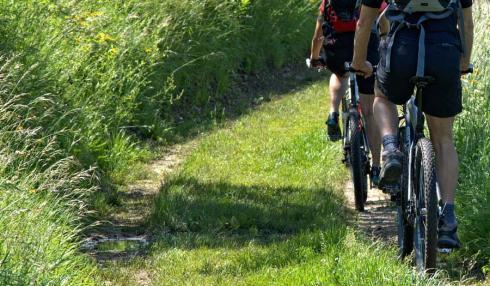 Hiking and mountain bike trails