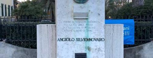 Monumento a Angiolo Silvio Novaro (Ph: Comune di Diano Marina)