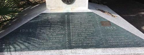 Monumento ai Caduti (Ph: Comune di Diano Marina)