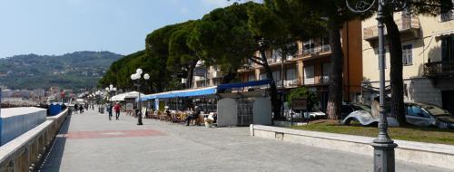 Lungomare Carcheri (Ph: Provincia di Savona)