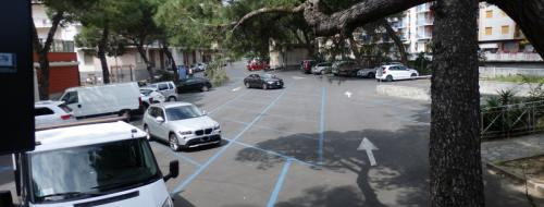 Parcheggio Piazza Virgilio (Ph: Provincia di Savona)