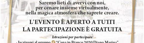 Cena in bianco virtuale_15 agosto 2020