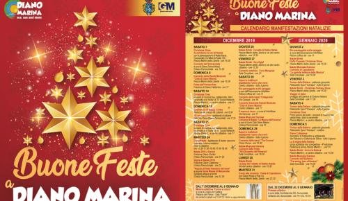 Calendario manifestazioni Natalizie a Diano Marina