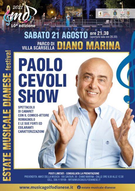 Estate Musicale Dianese_10^ edizione 2021_Paolo Cevoli Show