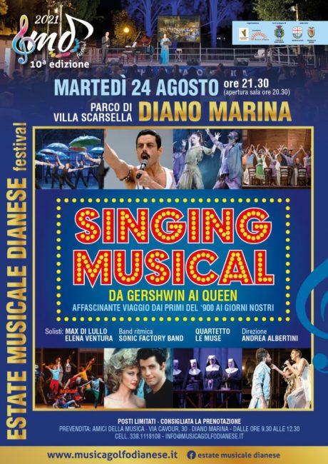 Estate Musicale Dianese_10^ edizione 2021_Singing Musical