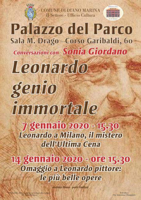 Leonardo genio immortale_7-14 gennaio 2020