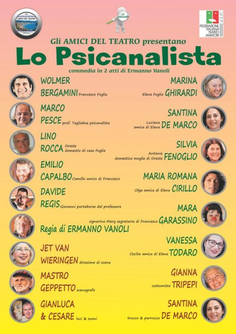 Commedia Teatrale Lo Psicanalista