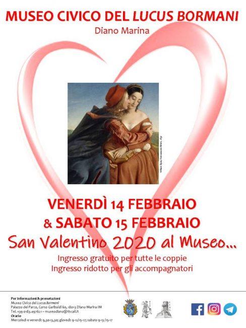San Valentino 2020 al Museo...