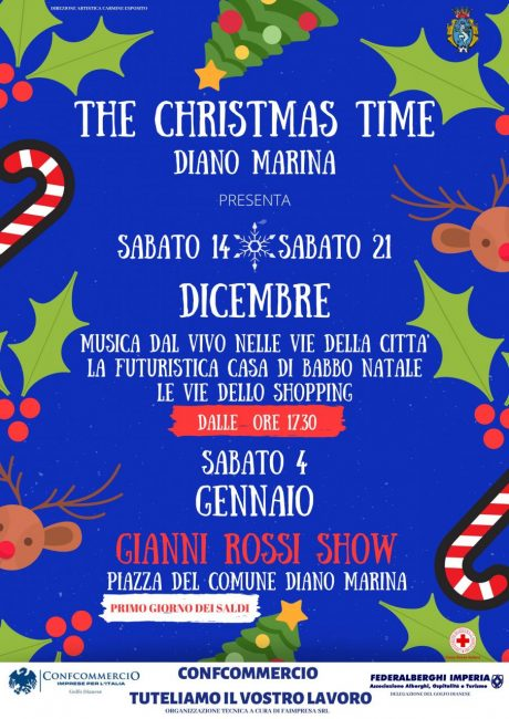 The Christmas Time in Diano Marina