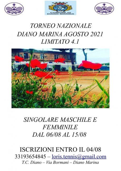 Torneo Tennis lim. 4.1_6-15 agosto 2021