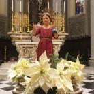 Benedizione natalizia dei bambini - statua Gesù Bambino (Ph: Comune di Diano Marina)