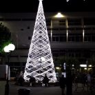L'albero di Natale 2019 a Diano Marina (Ph. Giuliano Tavernelli)