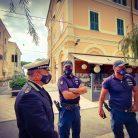 Polizia locale covid 19 (Ph. Luca Lucia)