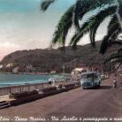 Via Aurelia e passeggiata a mare (Ph: New Cartoline Liguria)