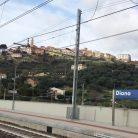 Vista dalla stazione di Diano (Ph. Giuliano Tavernelli)
