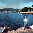 Panorama da levante 1964 (Ph: New Cartoline Liguria)