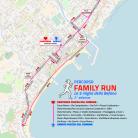 Le 5 miglia della Befana 2018_mappa Family Run