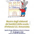 Locandina presentazione volumetto Scuola d'infanzia S. S. Annunziata di Diano Marina